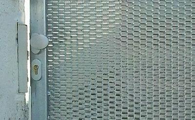 Pozinkované dveře s tahokovem