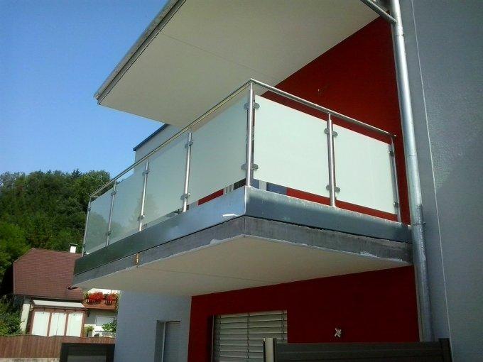 Balkónová zábradlí